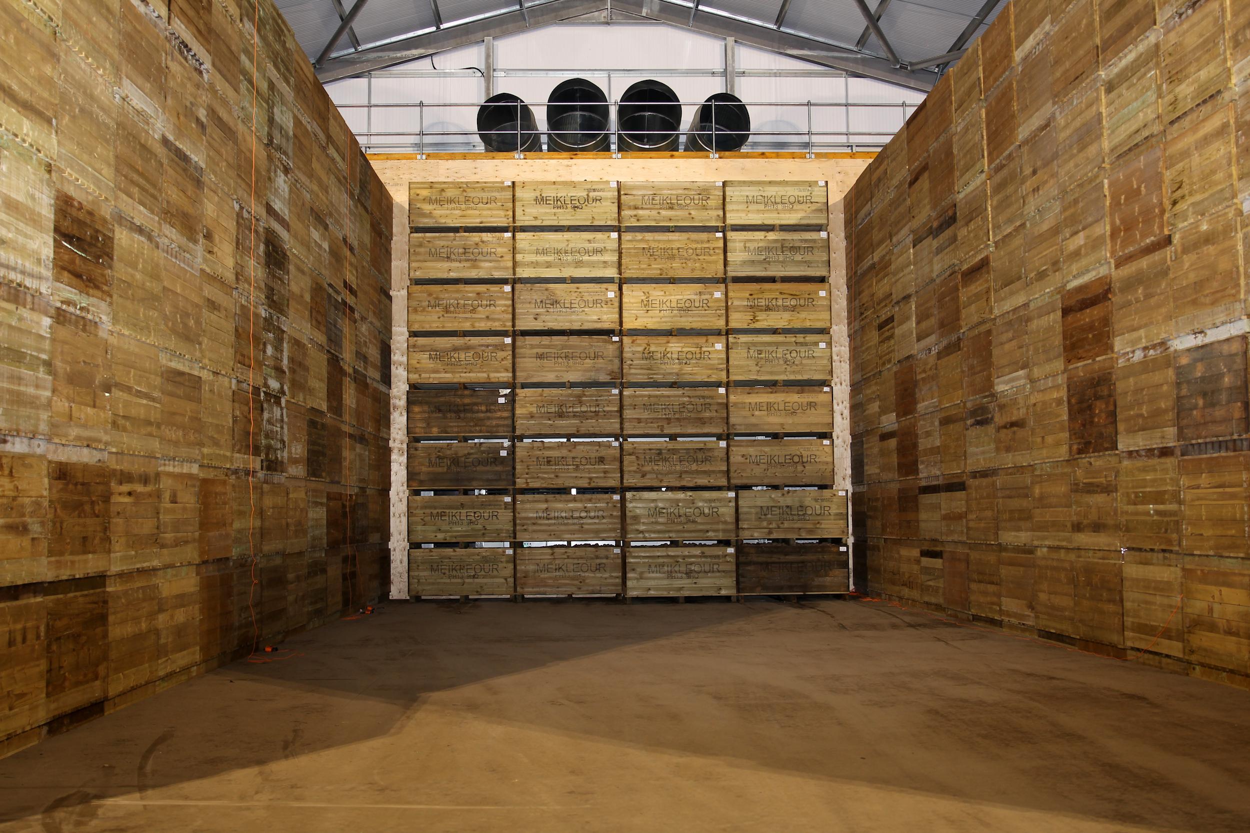 Potato storage at Meikleour